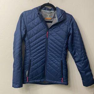 Icebreaker Merino blue jacket size xs.